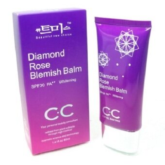 CC CREAM Diamond Rose Blemish Balm SPF30 PA++(สีม่วง) 40กรัม