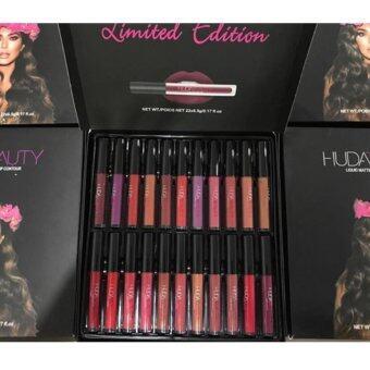 Huda Beauty Liquid Matte Lipstick Set 22 Color 22 สี 22 แท่ง