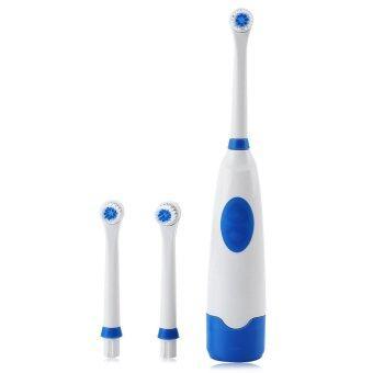 ชุด 1 อนามัยช่องปากวนต้ายเอาแปรงสีฟันไฟฟ้ามี 2 หัวแปรงขนนุ่ม