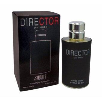 IScents Director Pour Homme 100 ml . น้ำหอมผู้ชาย กลิ่นหอมอบอุ่น ชวนน่าค้นหา กลิ่นหอม มีเสน่ห์เฉพาะตัว หอมยาวนาน เพิ่มความมั่นใจให้คุณได้ตลอดวัน โดยไม่ต้องกังวล
