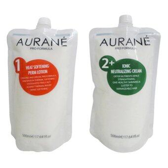 ครีมยืดผม Aurane Ionic Staight Pream Set IonicNeutralizing Cream 500 ml.