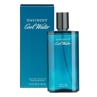 Davidoff Cool Water For Men EDT (125 ml.) พร้อมกล่อง