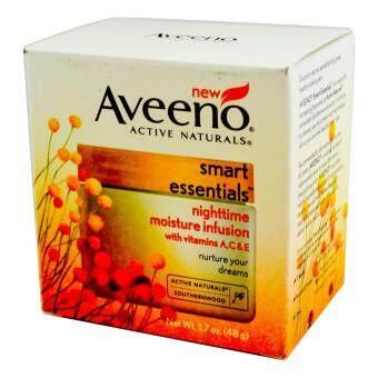 ครีมบำรุงผิวก่อนนอน Aveeno Smart Essentials Nighttime Moisture Infusion 1.7 oz (48g)
