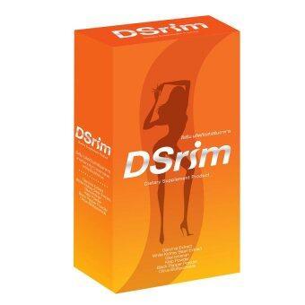 Dsrim ผลิตภัณฑ์เสริมอาหารเพื่อควบคุมน้ำหนัก 30 แคปซูล (ส้ม)