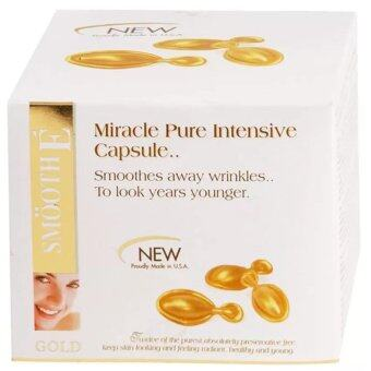 Smooth E Gold Miracle Pure Intensive 12 แคปซูล (1 กล่อง)