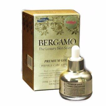 Harga Bergamo The Luxury Skin Science Premium Gold Wrinkle Care Ampoule 30ml .เซรั่มชนิดพิเศษ