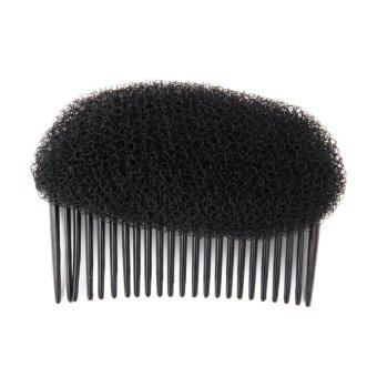 Harga Women Fashion Hair Styling Clip Stick Bun Maker Braid Tool Hair Accessories Black