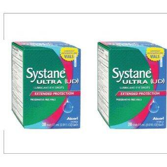 ALCON Systane Ultra น้ำตาเทียม ไม่มีสารกันเสีย 0.5 ML 28ชิ้น (2กล่อง)