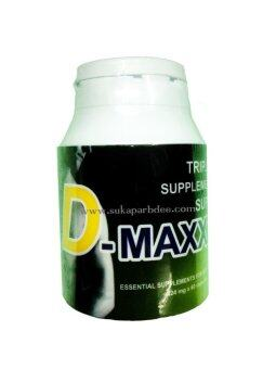 D-Maxxx ซุปเปอร์ดีแม็กซ์ อาหารเสริมสมรรถภาพท่านชาย (60 แคปซูล)
