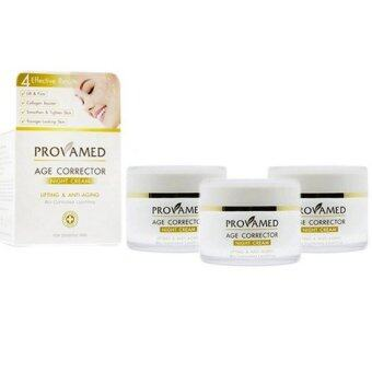 Provamed Age Corrector Night Cream 50 g * 3 กระปุก