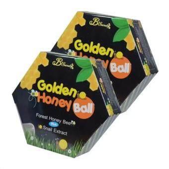 B'Secret Golden Honey Ball มาส์กลูกผึ้ง บี ซีเคร็ท กลิ้งแล้วหนืด ยืดแล้วมาส์ก (2 กล่อง)