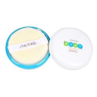 Shiseido Baby Powder Pressed Medicated แป้งเด็กอัดแข็ง สูตรเนียนใส บริสุทธิ์ (50g.)
