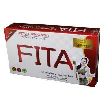 FITA Ho-Yeon ไฟต้าโฮยอน ดีท๊อกซ์ล้างลำไส้ ลดน้ำหนักด้วยจุลินทรีย์ พุงยุบ ลำไส้สะอาด บรรจุ 5 ซอง (1 กล่อง)