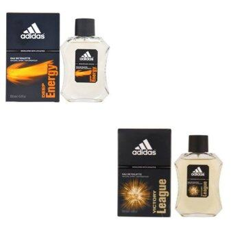 Adidas Victory League For men 100ml. + Adidas Deep Energy Adidas for men 100 ml พร้อมกล่อง