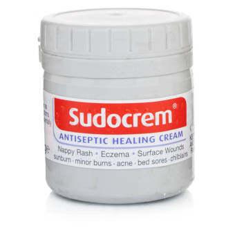 Sudocream ครีมบำรุงผิวแห้งและผิวบอบบางแพ้ง่าย 125g.