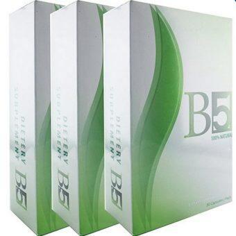 B5 slim อาหารเสริมลดน้ำหนัก กระชับสัดส่วน 30 แคปซูล (3 กล่อง)