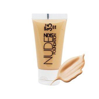 Sasha NUDE Foundation Skin SPF35++ รหัส 2302 ผิวเหลือง