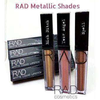 ของแท้ ลิปน้ำชา RAD Cosmetics เซต RAD Metallic Colors Set