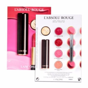 Harga Lancome L'absolu Rouge Tester และแปรงทาลิป