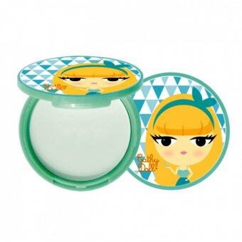 Cathy Doll Magic Oil Cut Mineral Pact 12g #Translucent แป้งล่องหน สำหรับคนผิวมัน