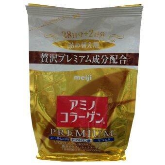 Meiji Amino Collagen Premium Refill 214g ( 1 ถุง)