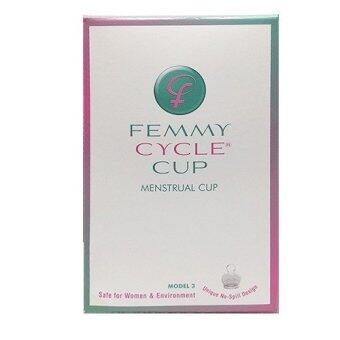 Mastery ถ้วยอนามัย FemmyCycle Menstrual Cup (Teen)สำหรับอายุตำ่กว่า30ปี