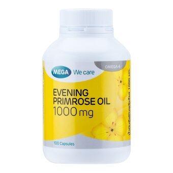 Mega We Care Evening Primrose Oil 1000 mg. (100 แคปซูล)