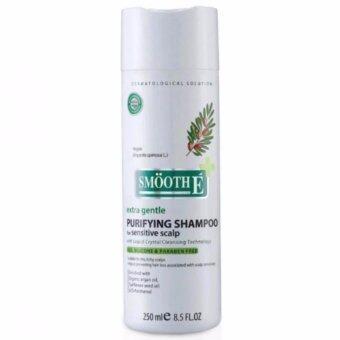 Smooth-E Purifying Shampoo สมูท อี เพียวรีฟายอิ้ง แชมพู ฟอร์ เซนซิทีฟ สคาล์พ 250มล.