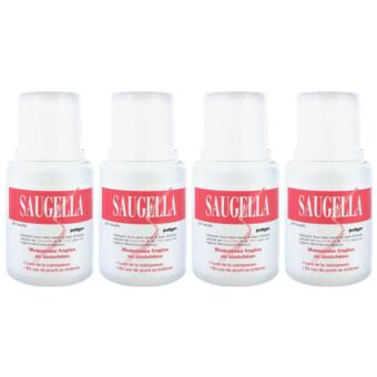 Saugella Poligyn Neutral pH ซอลเจลล่า โพลิจิน สูตร นิวทรอลพีเอช 100ml (4ขวด)