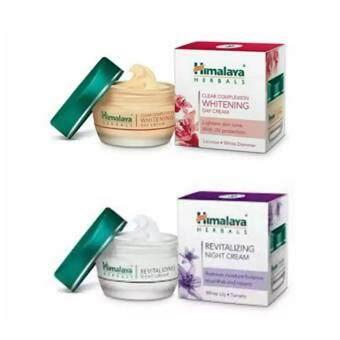 แพคคู่ Himalaya Day Cream & Night Cream 50 ml.