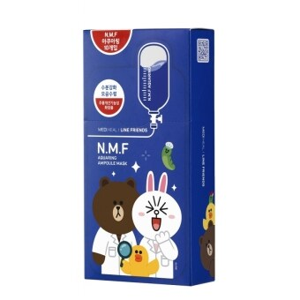 MediHeal มาร์คบำรุงผิวหน้า N.M.F. Aquaring Ampoule Mask (limited edition Line Friends)