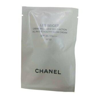 Chanel Les Beiges All-In-One Healthy Glow Cream ปรับผิวให้ดูเรียบเนียน N10 2.5ml (1 ซอง)