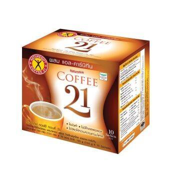 ขายยกลัง! NatureGift Coffee 21 เนเจอร์กิฟ คอฟฟี่ ทเวนตี้ วัน 1 ชุด มี 40 กล่อง (กล่องละ 10 ซอง)