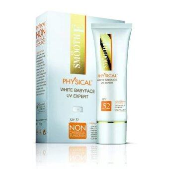 SMOOTH E Physical SunScreen SPF52 40กรัม(สีเบจ)