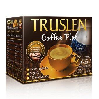 Truslen Coffee Plus กาแฟสร้างมวลกล้ามเนื้อ (10 ซอง)