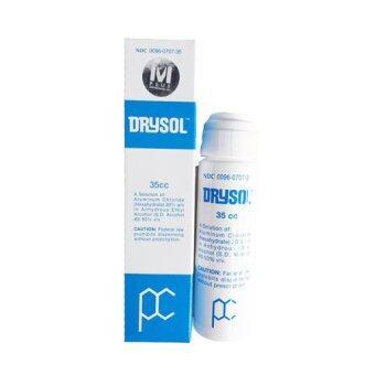 Drysol Antiperspirant น้ำยาระงับเหงื่อสำหรับมือและเท้า 35cc