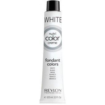 Revlon Nutri color crème ครีมเคลือบและบำรุงเส้นผมแบบหลอด สี White สีขาว หรือสีเคลือบเงา (100ml)