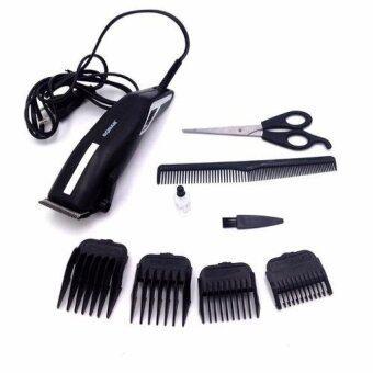 แบตตาเลี่ยน ตัดแต่งผม แบตเตอร์เลี่ยนตัดผมชายสีดำ แบตเตอเลี่ยนชนิดมีสาย แบตตาเลี่ยน ตัดแต่งผมไฟฟ้า ปัตตาเลี่ยนตัดผมเด็ก ปัตตาเลี่ยนตัดผมไฟฟ้า BLACK Professional Electric Hair For Men & Women(Black)
