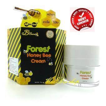 B'Secret Forest Honey Bee Cream บี ซีเคร็ท ครีมน้ำผึ้งป่า ครีมบำรุงผิวหน้าเนียนเด้ง ขนาด 15 กรัม (1 กระปุก)