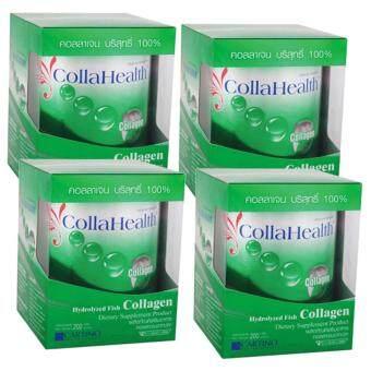 คอลลาเฮลท์ คอลลาเจน Collahealth Collagen 200g x 4 Bottle