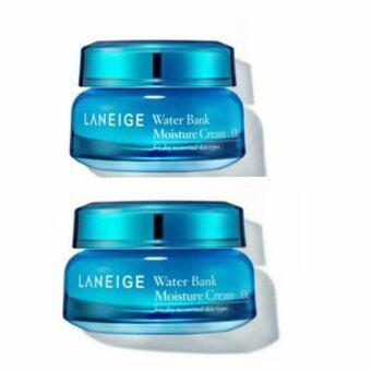 แพคคู่ Laneige Water Bank Moisture Cream (10 ml) มอยส์เจอร์ไรเซอร์เนื้อครีม เข้มข้น สำหรับผิวแห้ง