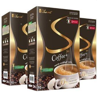 Chame Sye Coffee Plus (10ซอง) กาแฟลดน้ำหนัก กระชับสัดส่วน (3 กล่อง)
