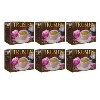 Truslen Coffe Plus Collagen (16 กรัม X 10 ซอง) 6 กล่อง