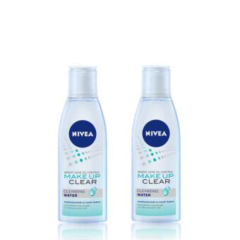 นีเวีย คลีนซิ่ง วอเตอร์ NIVEA Brightening Acne Oil Control Make Up Clear Cleansing Water 200 ml (แพ็คคู่)