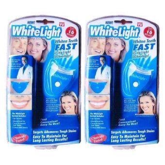 Paragon อุปกรณ์เลเซอร์ฟอกสีฟันขาว (2 ชุด) สำหรับทำเองที่บ้านใน 10 นาที WhiteLight Tooth Whitening System