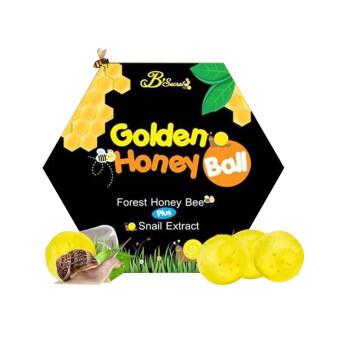 B'Secret Golden Honey Ball มาร์กลูกผึ้ง สบู่กึ่งมาร์กดีท๊อกผิว สบู่ล้างหน้า สบู่ลดการเกิดสิว