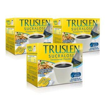 Truslen Sucralose 50 Pc. แพ็ค 3