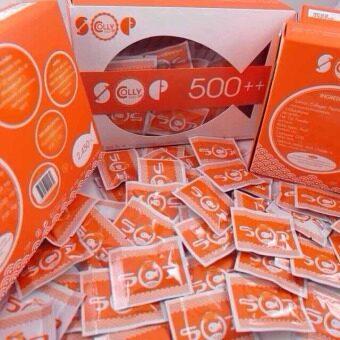 แพค 15 ซอง COLLY SOP 500++ คอลลี่ รกปลาหน้าเด็ก (15 เม็ด สำหรับ15 วัน)