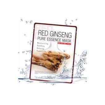 RED GINSENG PURE ESSENCE MASK (มาร์คหน้า โสมแดงเกาหลี สกินซอล)