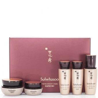 Sulwhasoo Time Treasure EX Kit 5 Items เซ็ตสุดหรูใหม่ล่าสุด !! เพิ่มความเข้มข้นด้วยสารสกัดจากสนเกาหลีแดง ที่ช่วยลดเลือนริ้วรอยได้อย่างล้ำลึกกว่าเดิม
